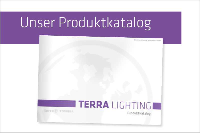 der neue TERRA LIGHTING - Produktkatalog