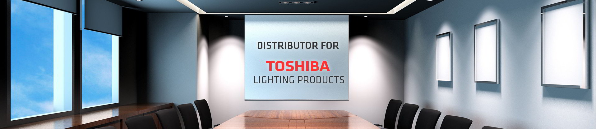 banner terra lighting toshiba lighting distributor